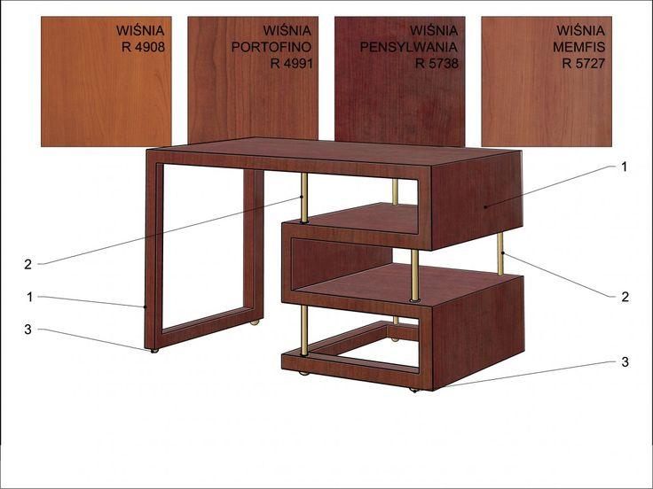 meble Waltera Gropiusa / furniture Walter Gropius ; Bauhaus; WuWa