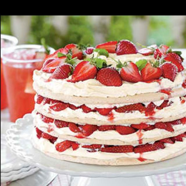Strawberries Cream Torte Recipe: Strawberry Torte Recipes Cake Ideas And Designs