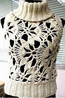 Crochet Moda Femenina - Arte Mundo
