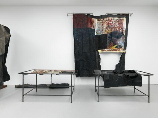 Oscar Murillo at Haus der Kunst, Munich