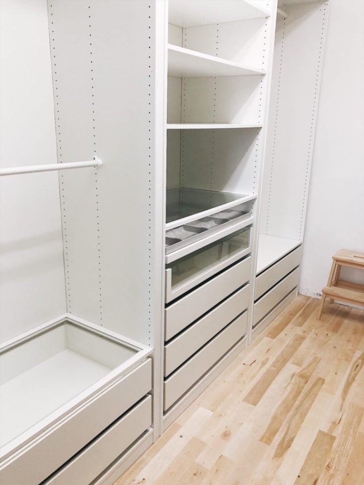 PAX Wardrobe Master Closet Builtins Custom IKEA Pax