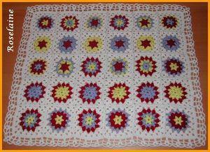 Couverture au crochet #1