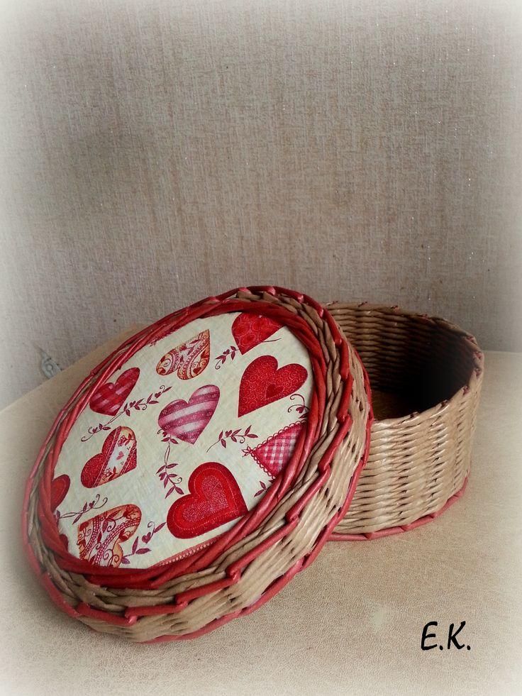"""Шкатулочка """"Дела сердечные"""". Особенные подарки для особенных людей! Высота 9 см., диаметр 21 см."""