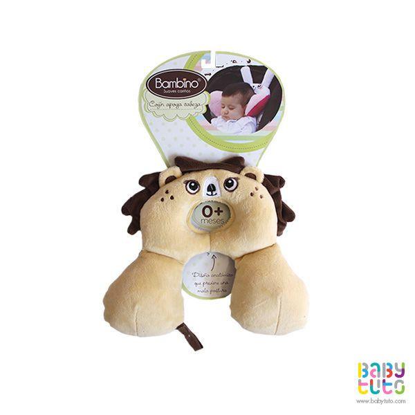 Cojín para bebé con diseño anatómico león, $4.360 (precio referencial). Marca Bambino: http://bit.ly/1cLQKcZ