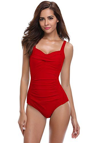 SHEKINI Bikini Femme Body Guide Push up Maillots de Bain Femme 1 Pièce  Monokini Rembourré Beachwear 891a60b06f1d