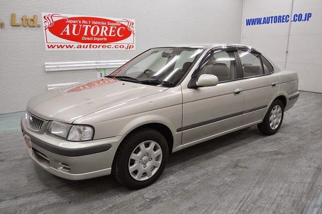 Japanese vehicles to the world: 2001 Nissan Sunny Super saloon for PNG to LAE