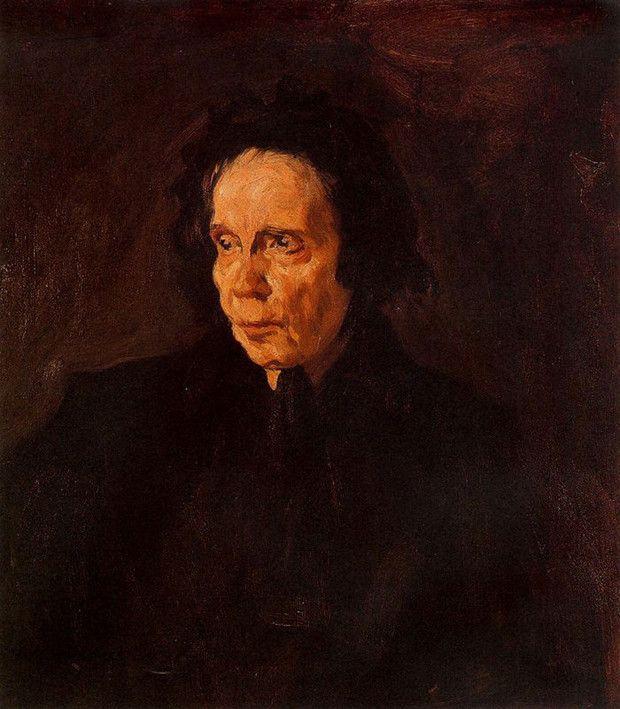 Pablo Picasso, Portrait of Aunt Pepa, 1896, Museu Pablo Picasso, Barcelona early picasso