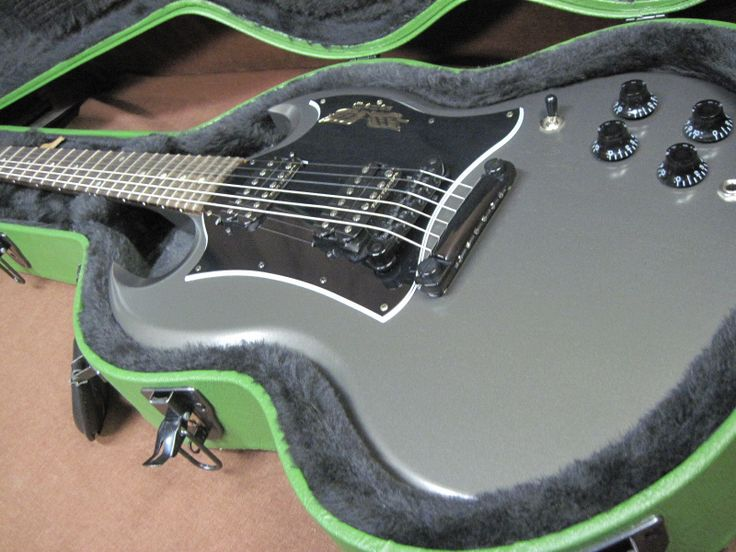 2013 Gibson Government SG Rare Dark Grey Electric Guitar w/ Certificate *NICE*$$