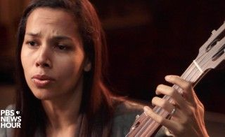 "Rhiannon Giddens performs ""Julie."""