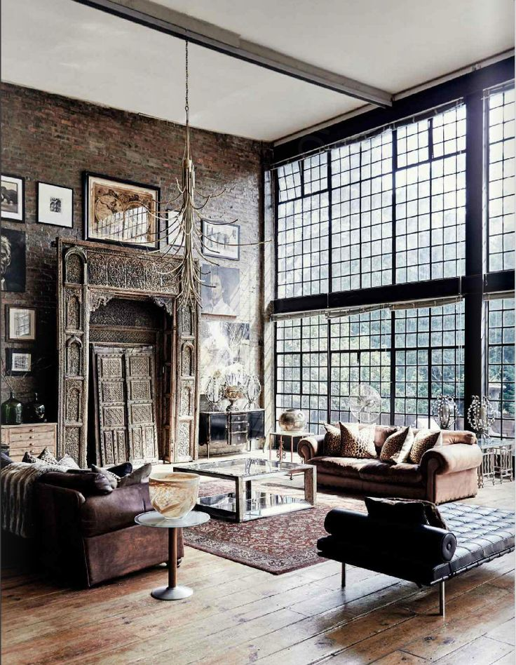 A wall of windows! #bigwindows #urbanindustrial #convertedspace