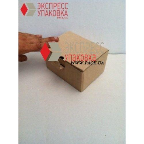 Картонная коробка для подароков и сувениров, строительных мелочей 75 х 75 х 95 мм