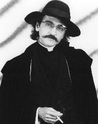 Don Novello first created Father Guido Sarducci in 1973, when he found the Vatican monsignor's outfit -- big floppy black hat, white clerical collar, and a long, red-trimmed black coat with cape -- for $7.50 at a St. Vincent de Paul thrift shop.