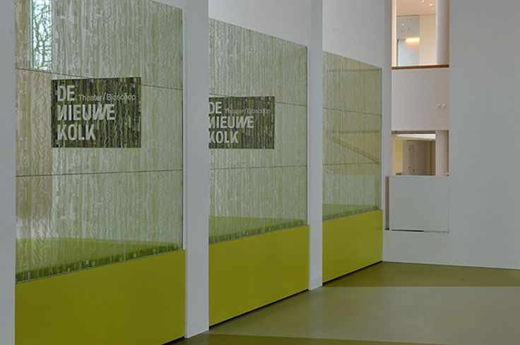 Glazen panelen de Kolk in Assen. #glas #paneel #geprint #denieuwekolk #harryvan #interieur