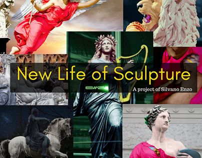 """Check out new work on my @Behance portfolio: """"New Life of Sculpture"""" http://be.net/gallery/41377551/New-Life-of-Sculpture"""