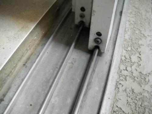 Prime-Line 14/ In. X 8 Ft., Stainless Steel, Sliding Door