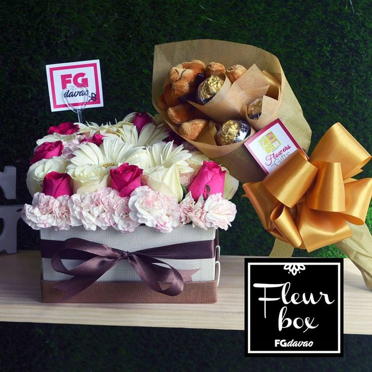 Spring Flowers Fleur Box and Chocolate Bouquet  Flowers Gifts Delivery www.FGDavao.com 0998 579 5720  #fleurbox #fleurs #flowerbox #boxofflowers #greenroses #whiteroses #greenandwhite #boxofroses #flowersandgifts #flowersandgiftsdelivery #sendgifts #giftsdavao #giftsph #fggifts #fgdelivery #giftshop #flowershop #flowers #flowersdavao #flowersph #florist #davao #ph
