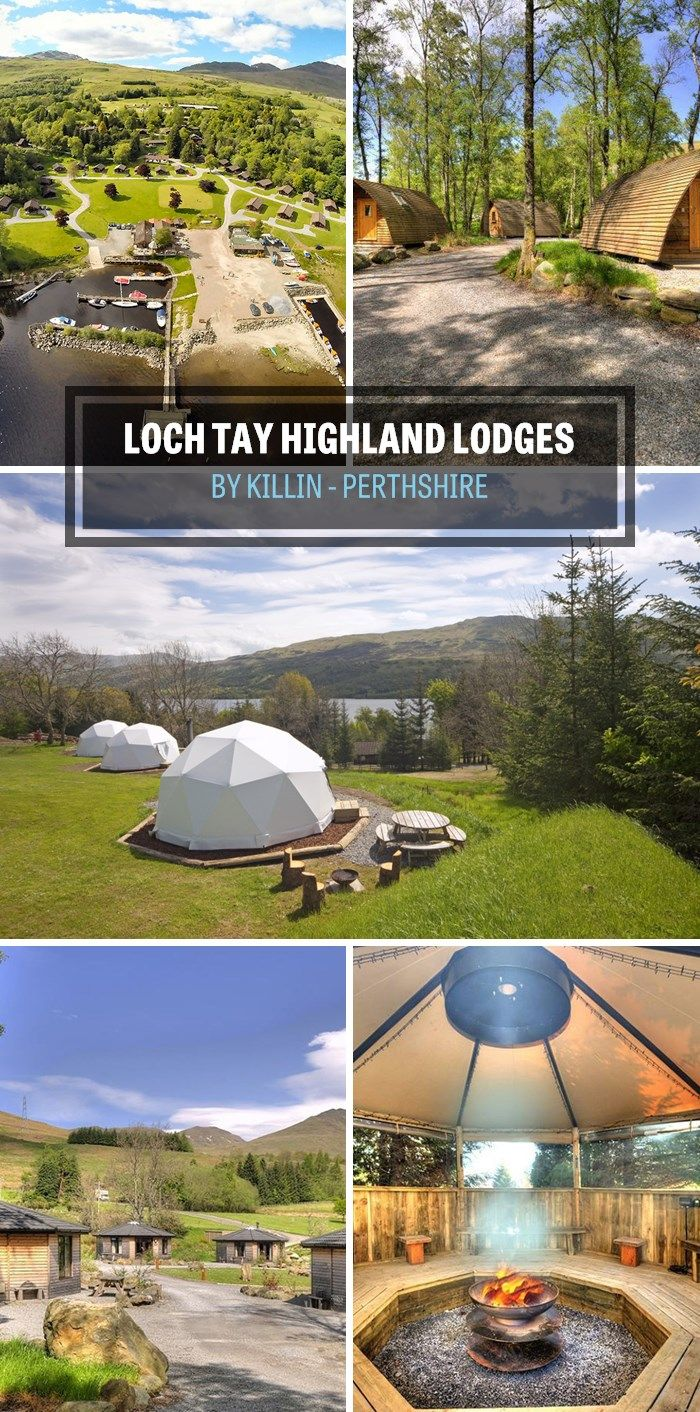 Loch Tay Highland Lodges, By Killin in Perthshire, Scotland