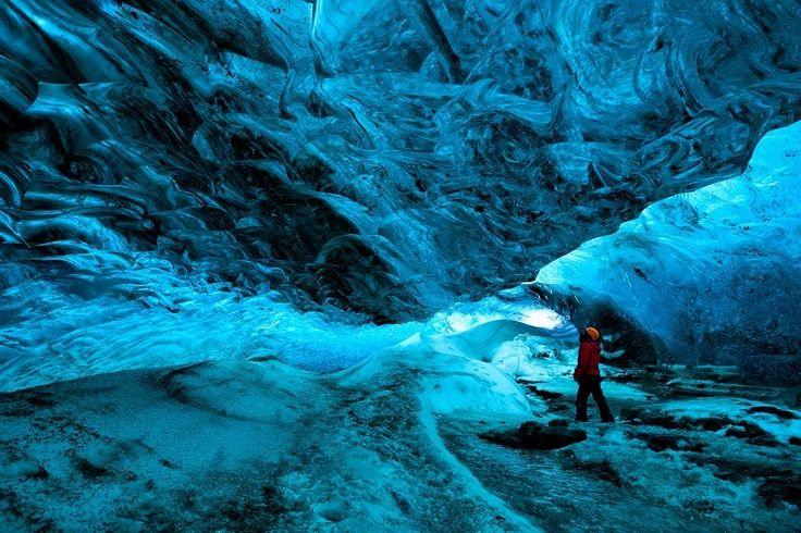 Vatnajokull in ijsland