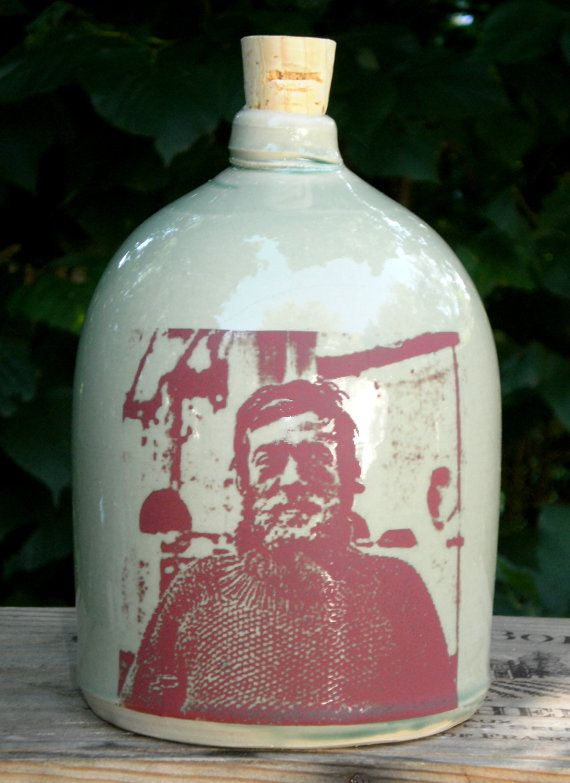Ernest Shackleton Jug Ceramic Handmade