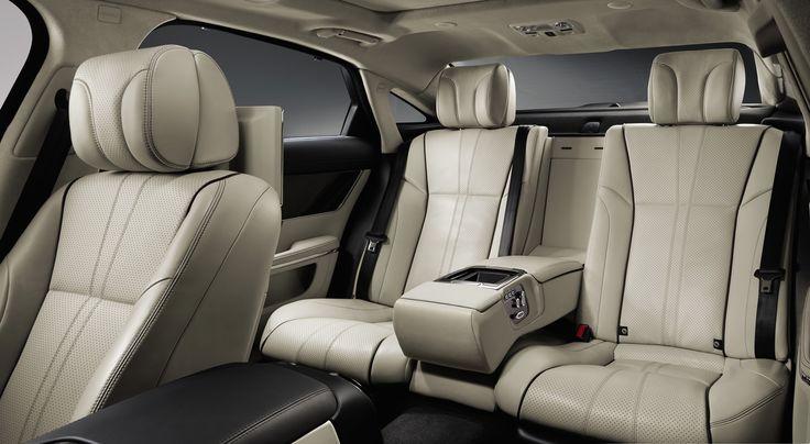 2014 Jaguar xj interior