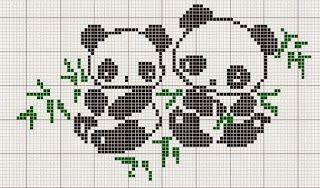 Χειροτεχνήματα: Μικρά μοτίφ με ζωάκια για παιδικά κεντήματα / small cross stitch animal motifs