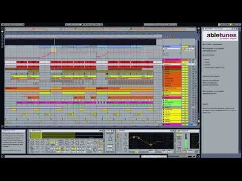 Deep Tech House Ableton Live Template Soundsystem By Abletunes