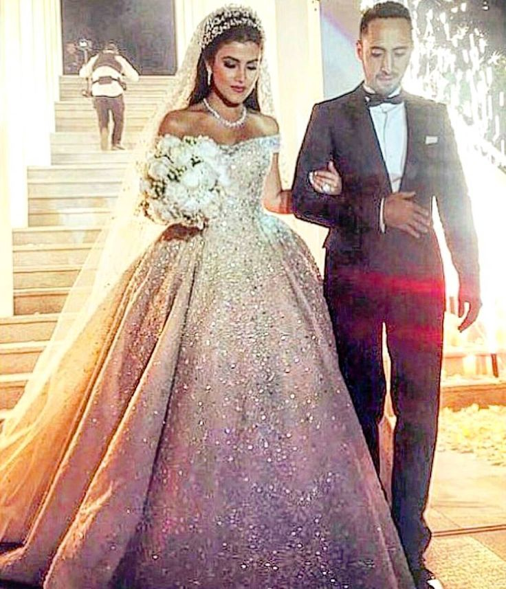 "Lebanese Weddings on Instagram: ""Yesterday's bride wearing Zuhair murad gown @zuhairmuradofficial ! #lebaneseweddings @farahalali11 #tamerandfarah"""