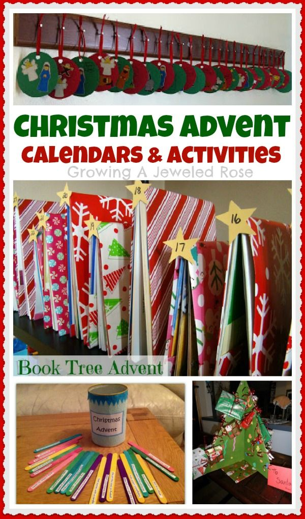 Book Advent Calendar Ideas : Best images about holidays christmas advent calendars