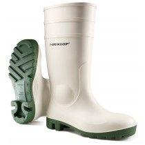 Dunlop Protomastor Safety Wellington Boots White