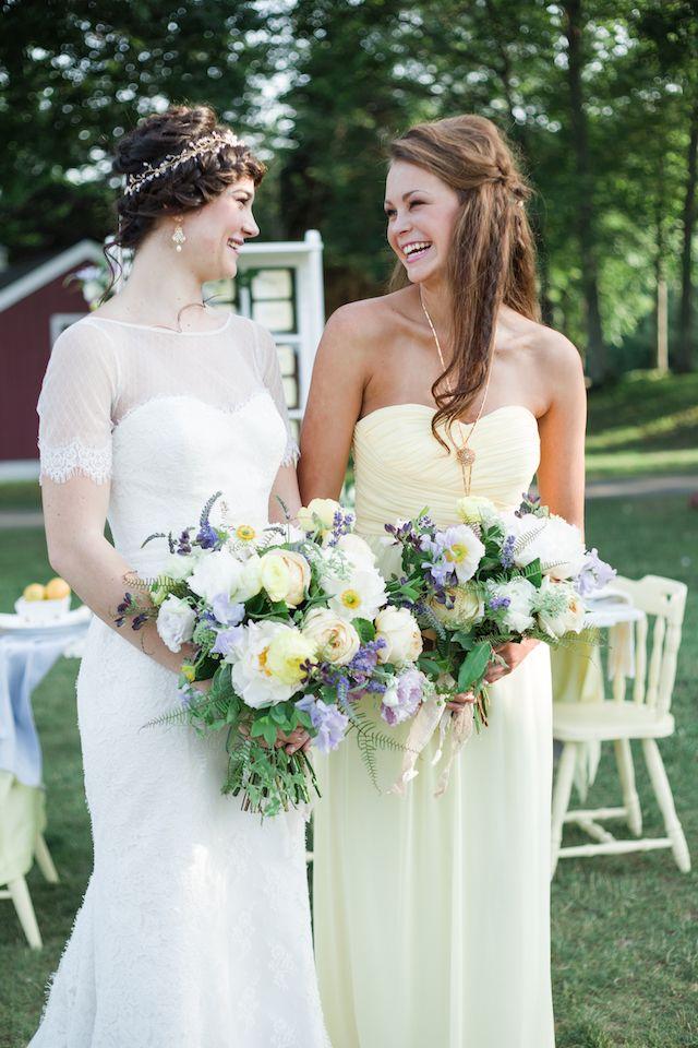 25 best yellow bridesmaids ideas on pinterest