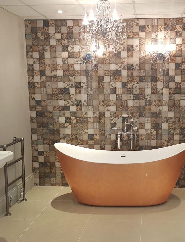 Sestiere series | Arcana Tiles | Bathroom decor | Inspiration interior design | bathroom ideas |  Cannaregio 25x75 cm. wall tile