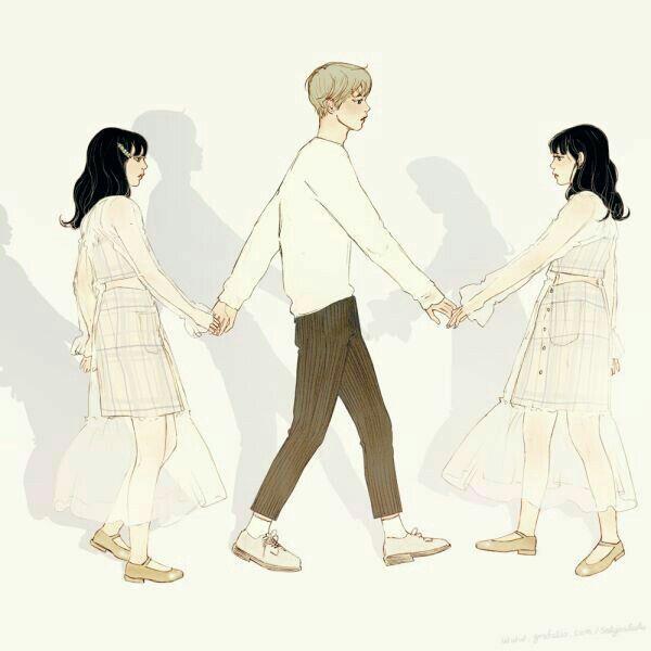 Mentahan Cover Lovers Embrace Art Anime Art Girl Cute Couple Art