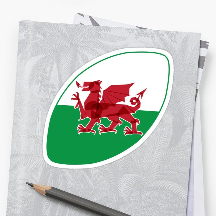 Rugby Wales sticker by Fimbis _________________________________ #RWC2019 #RWC #rugby #dragon #welsh #Rygbi #graphicdesign #stickers #reddragon #cardiff #swansea #collage #red #sixnations #6nations