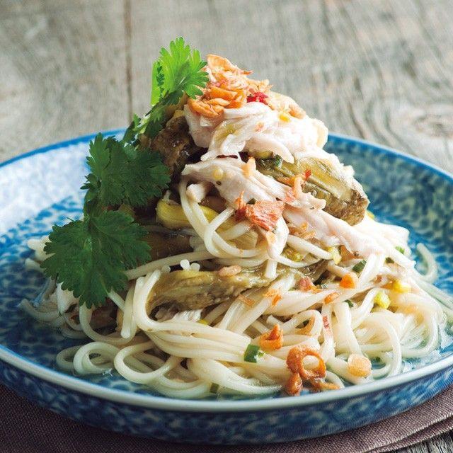 夏まで待てない。一皿で大満足の素麺(そうめん)レシピ。 | キナリノ