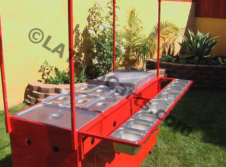 (#31) Fire Cart Model - L.A. Taco Carts