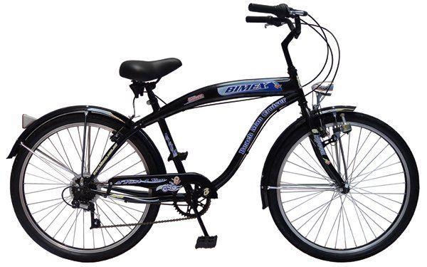 Bicicleta Cuidad Alum R26 Caballero Bimex Beach Ma