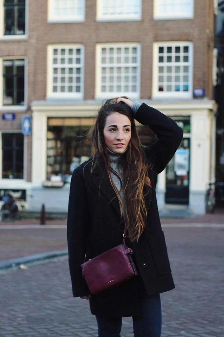 Amsterdam Street Style Rabeanco Bag Fashion Pinterest Bordeaux Street Styles And