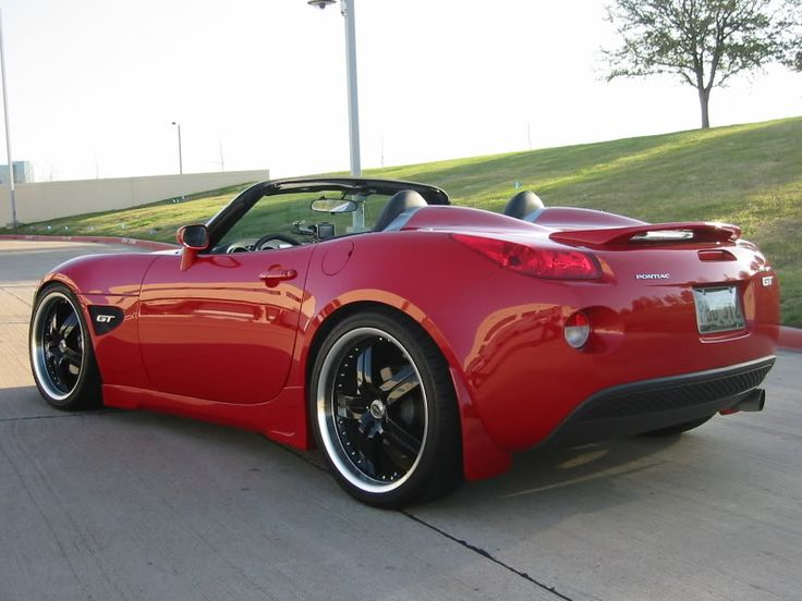 "custom pontiac solstice | Recommended offset ranges for 20"" wheels? - Pontiac Solstice Forum"