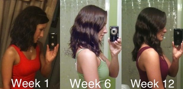 Hair Growth Progress - Week 12  Weeks 1-6 I used FAST shampoo and conditioner every day.  Weeks 6 - 12 I used regular shampoo and conditioner.
