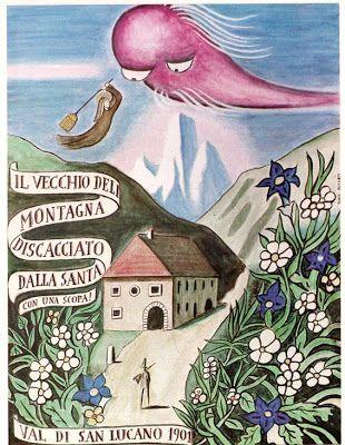 Dino Buzzati, I miracoli di Val Morel, 1971. Il Vecchio della Montagna.