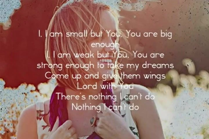 I sang this song at s baptism!! I want to set the world on fire!! <3 it!!!! Britt Nicole