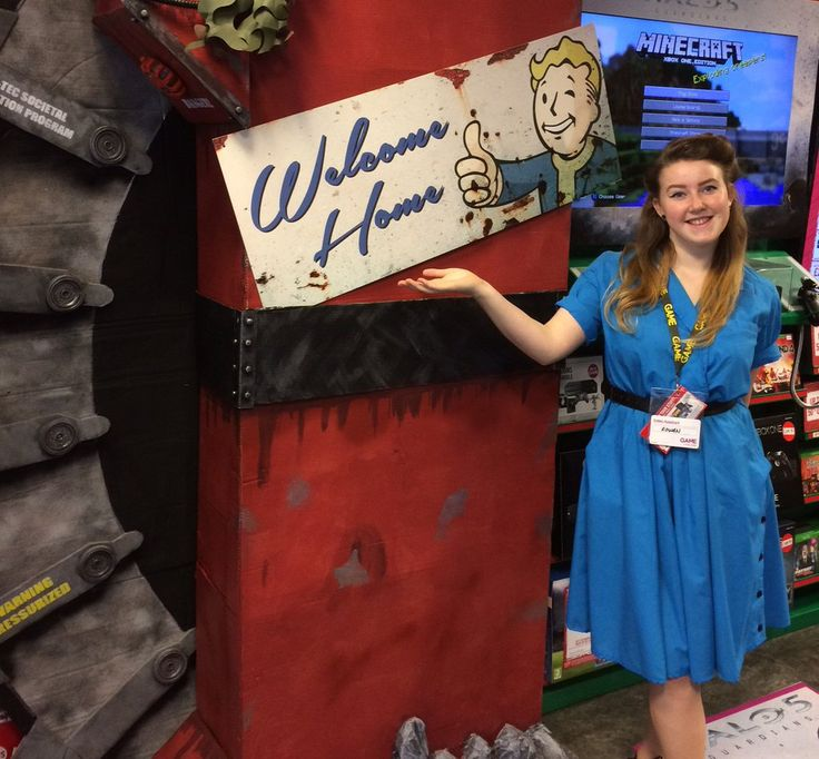 Confetti student Rowan creates artwork for Fallout 4 release