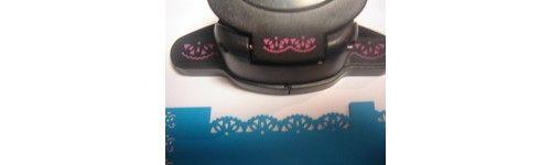 Festonea tus trabajos de #Scrap con estos #Punch para Bordes. Troquela de manera rapida y fácil papel o cartulina. Consigue un efecto prefesional. Disponibles en Artesanías Montejo