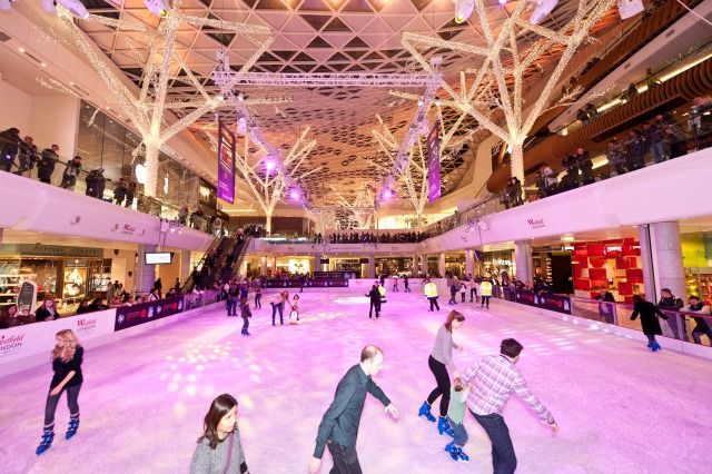 (PHOTO: Unknown)  Get your skates on! Best ice rinks for winter fun:  Westfield London, London 24 November 2016 – 8 January 2017 (Top off your London Christmas shopping trip with an ice skating session at Westfield London. The indoor ice skating rink is ideal for gliding through a fashionable setting surrounded by your favourite the shops. Located in The Atrium, the ice rink hosts a variety of entertainment, from live DJ sessions to the stylish Coach Lounge, as well as plenty to keep...)