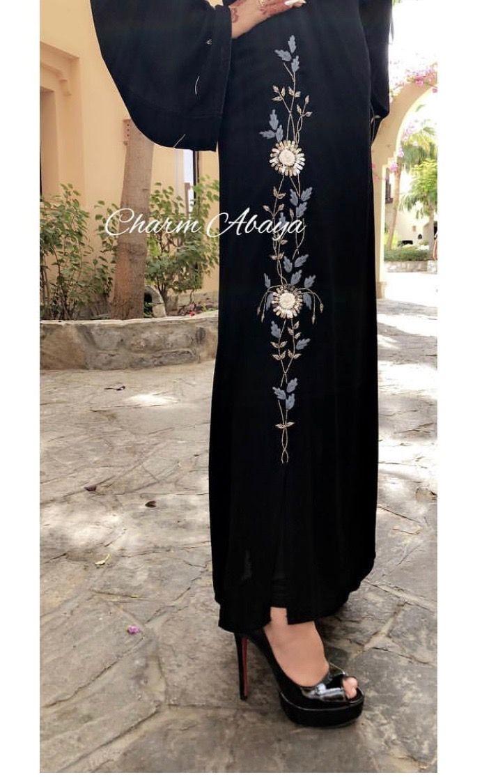 Pin By Rahana Kamil On Caftan Abaya Fashion Fashion Design Dress New Abaya Style