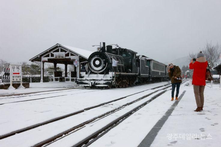 곡성 기차마을 겨울 - Google 검색