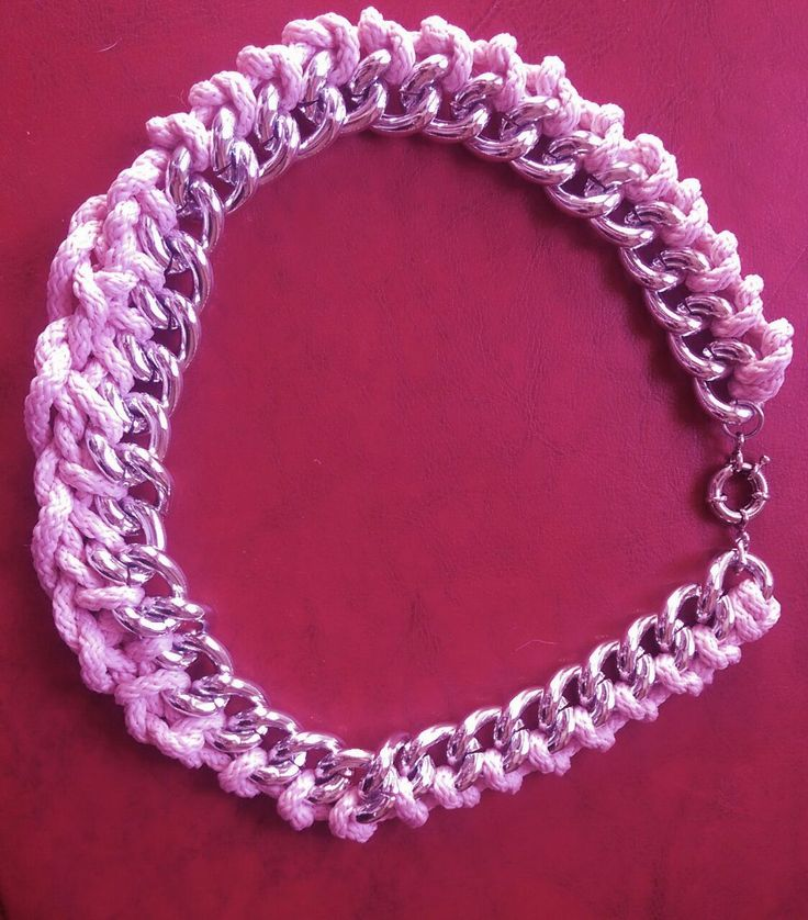 Pink Necklace 35 lei