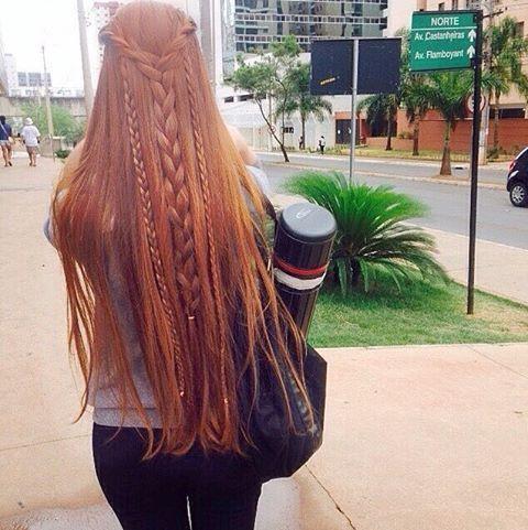 O cabelo lindo da @veronicamm2 ✨ (Majirel 7.4) #ruivo #ruiva #redhair #ruivosdobrasil                                                                                                                                                                                 Mehr