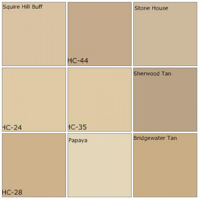 Beige / tan paint Designers' favorite colors Paint