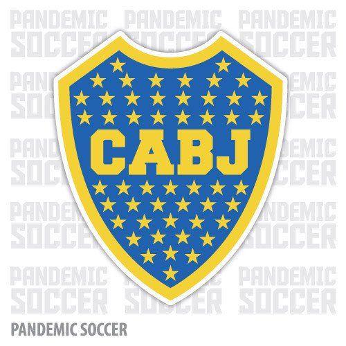 Boca Juniors Xeneize Argentina Vinyl Sticker Decal Calcomania